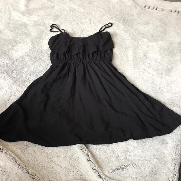 Cotton On Dresses Black Cute Dress Adjustable Straps Size Small
